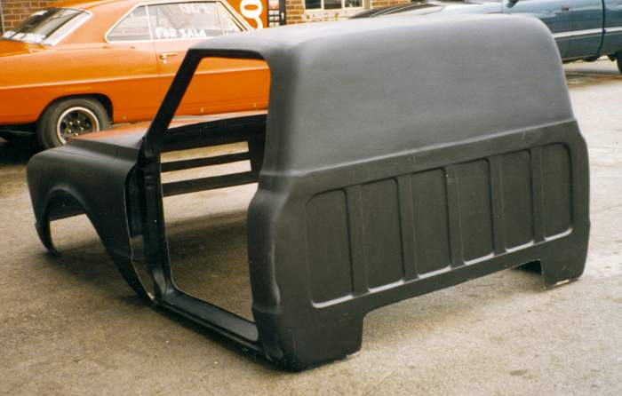 check this out fiberglass race body - The 1947 - Present