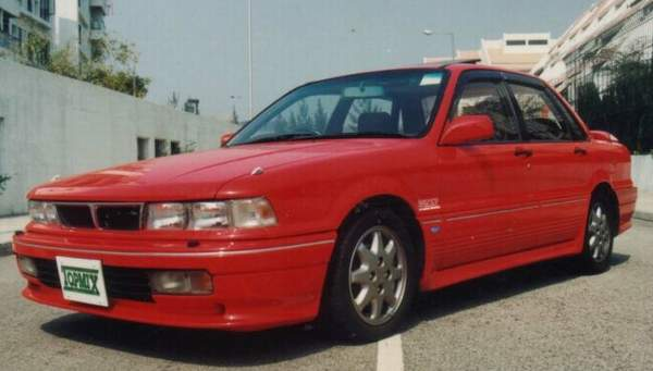 The 1991 to 1994 Galant VR-4 is not a common vehicle, nor is it well-known.